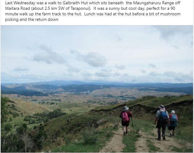 Trip Reports - Galbraith Hut